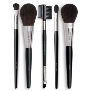 NEW Mary Kay 5 Piece Face Brush Set
